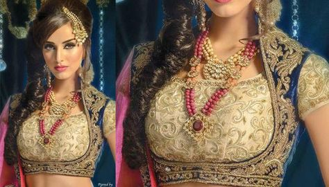 5 Fabulous Choli Designs That Indian Brides Can Steal From Pakistan