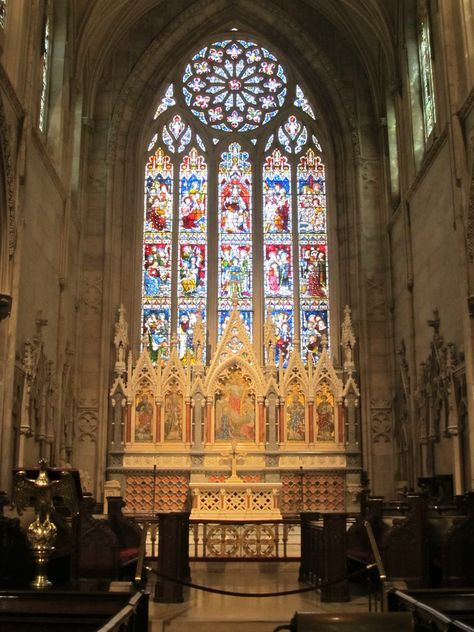 Gothic Revival Church In New York City Church Architecture Churches In Nyc Gothic Design
