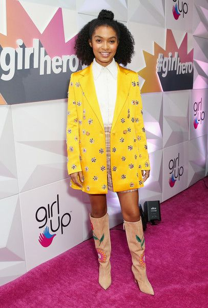 Honoree Yara Shahidi attends the Girl Up #GirlHero Awards Luncheon.