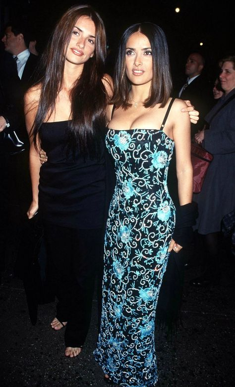 Selma Hayek and Penelope Cruz