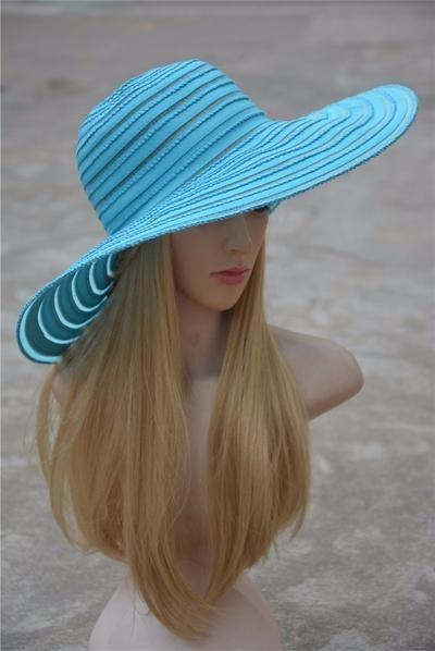 aaf70b1d6 Kentucky Derby Hat 2017 Summer Fashion Lady Sun Hat Beach Cap ...
