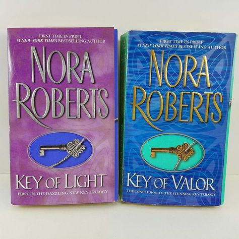 Nora Roberts Key Trilogy Books 1 3 Key Of Light Key Of Valor