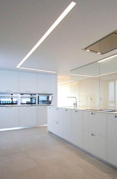 65 Modern Contemporary Led Strip Ceiling Light Design Hoommy Com Ceiling Light Design Ceiling Design Led Recessed Lighting