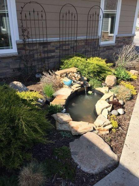 Small Garden Pond Paradise Diy Gardening Ponds Water Features