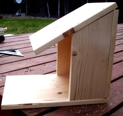 3 cedar nesting boxes, for robins, cardinals, bluebirds, titmouse