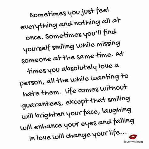 Sometimes you ll find yourself smiling while missing someone