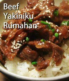 Beef Yakiniku Resepkoki Co Resep Masakan Jepang Resep Makanan Asia Resep Ikan Bakar