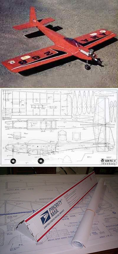 RC Plans Templates and Manuals 182212: Sunfli 4 60 Inch