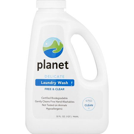 Planet Delicate Laundry Wash Free Clear Certified