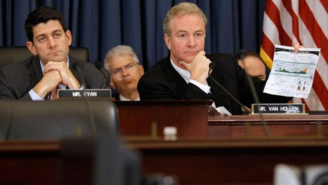 ~~Obama campaign chooses Chris Van Hollen to play Paul Ryan in VP debate prep - CBS News :: Rep. Chris Van Hollen, a Democrat from Maryland, is the ranking member of the House Budget Committee, which Ryan chairs. The two men clash regularly over the same issues that will come up in a vice presidential debate