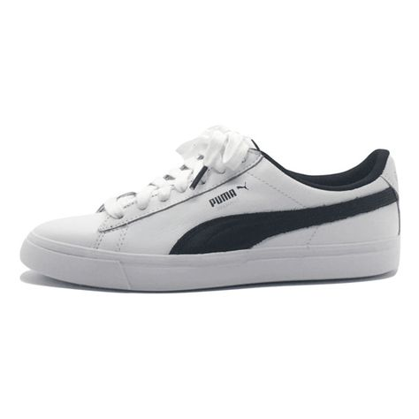 Puma Courtstar Made by BTS 36620201 ❤ liked on Polyvore