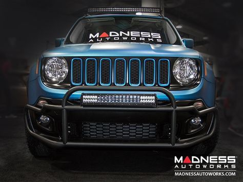 Jeep Renegade Front Bumper Bar By Madness Jeep Renegade Jeep