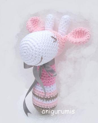 Crochet Giraffe PATTERN Amigurumi giraffe pattern pdf tutorial ... | 432x346