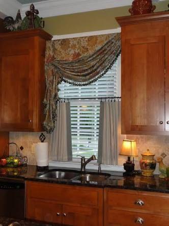 Resultado De Imagen Para Wooden Blinds And Curtains Together