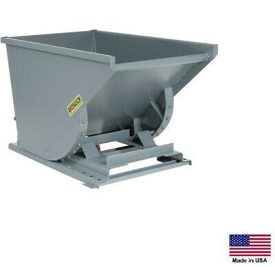Forklift Hopper Dumpster Commercial Self Dumping 1 2 Cy 6000 Lb Cap Mdg In 2020 Dumpster Forklift Industrial