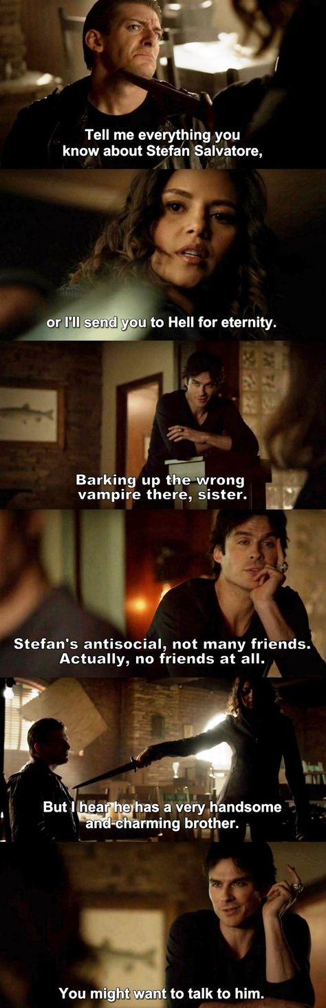 The Vampire Diaries TVD 7X15 - Damon and Rayna