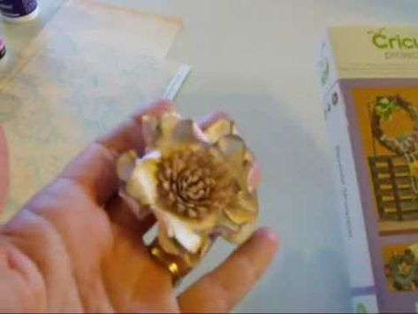 My Craft Spot-Flower Shoppe: Crumpled Flower