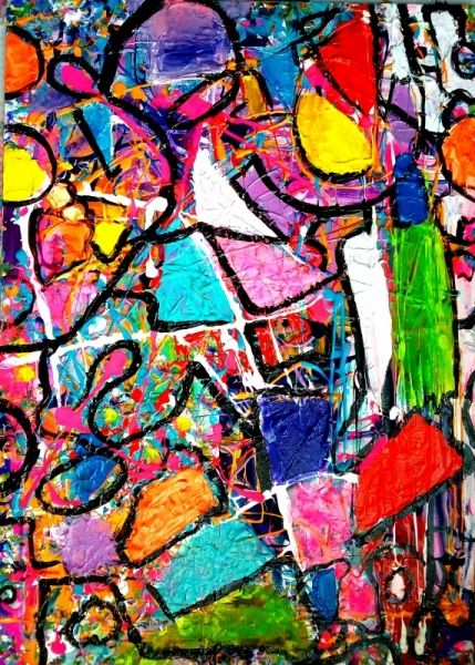 Art contemporain abstrait