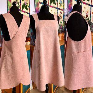 The Maria Apron PDF sewing pattern Pinafore style apron Apron Pattern Free, Tunic Sewing Patterns, Sewing Aprons, Sewing Clothes, Clothing Patterns, Apron Patterns, Dress Patterns, Pattern Sewing, Japanese Sewing Patterns