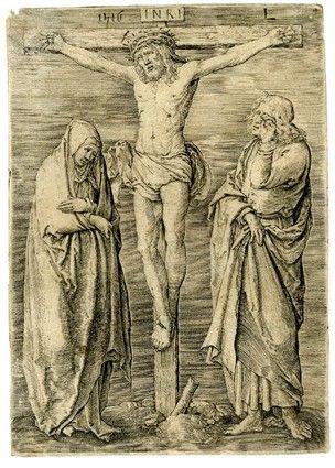 Christ On The Cross Lucas Van Leyden 1516 Engraving 118 X 84 Mm The British Museum London Uk Culture Art British Museum Museum