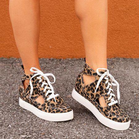 Sneaker heels, Women platform sneakers