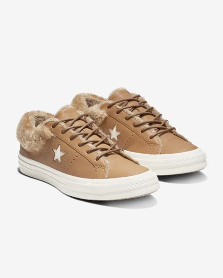 profundo Ten cuidado comportarse  Converse One Star Street Warmer Leather Low Top Women's Boot | Converse one  star shoes, Converse one star, Converse