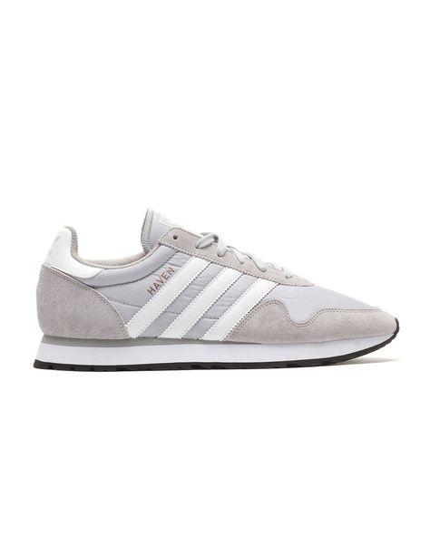 adidas Haven (d grijs) - Grijs, Adidas en Heren sneakers