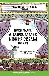 I did Hamlet with my 3rd and 4th graders, and they loved it. We didn't use a script from this site; I wrote it, but one like this would take less teacher time. I also would consider doing it as a Readers' Theater, if the dialogue fits that delivery style.