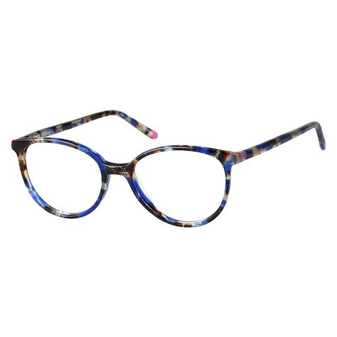 f55b628cdf74 Zenni Womens Round Prescription Eyeglasses Pattern Plastic 4417516