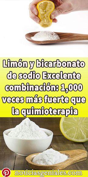 Limon Y Bicarbonato De Sodio Excelente Combinacion 1 000 Veces