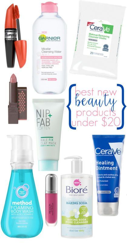 Best New Beauty Products under $20