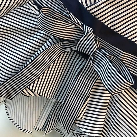 Lantern Sleeve Blouse Shirt Women 2021 Fashion Elegant lafdis  Style Summer Bow V-neck Striped Shirt Elegant Ladies Tops Female Clothing - XXL / TOP 2