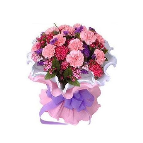 Pink Carnations Are For Admiration Buy Pink Carnations From Philippinesflowershop Com In A Hand Tied Bunch Or A Tissue Wrappe Pink Carnations Carnations Pink