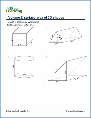 Free 6th Grade Math Worksheets With Answers In 2020 Math Worksheets Mathematics Worksheets Grade 6 Math Worksheets 6th grade volume worksheet