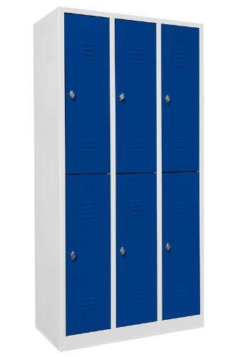 Bisley-Online - MonoBloc, 3 Abteile, Garderobenschrank, Spind ...
