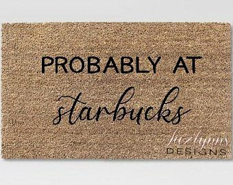 We Hope You Brought Wine And Dog Treats Coir Door Mat Funny Etsy In 2020 Door Mat Personalized Welcome Mats Funny Welcome Mat