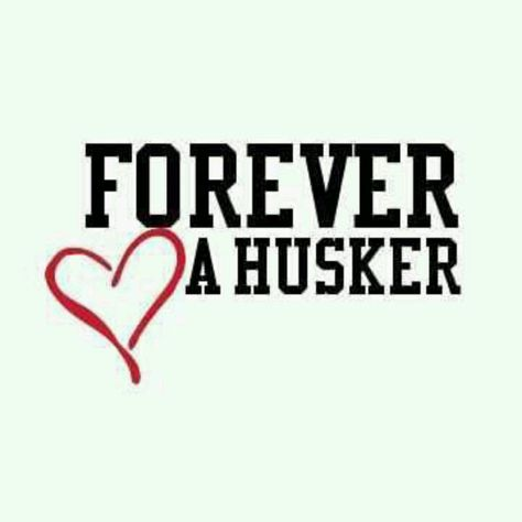 You can take the girl out of Nebraska but she will forever be a Cornhuskers.