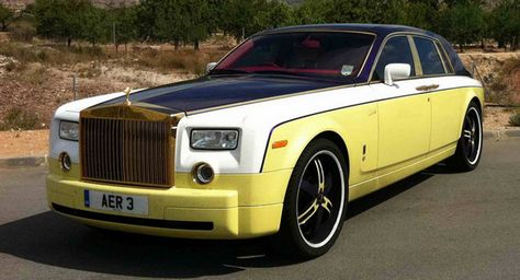 ❦ Rolls Royce Owners Adds Some Color to Phantom Limo - Carscoop
