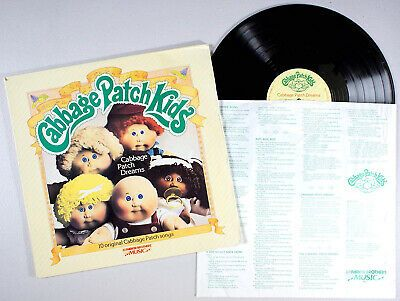 Rare Vintage Original 1984 Cabbage Patch Kids Dolls Vinyl Collectiable Record Ebay Cabbage Patch Kids Dolls Cabbage Patch Kids Patch Kids