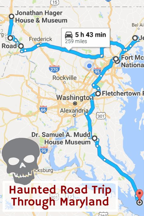This Haunted Road Trip Will Lead You To The Scariest Places In