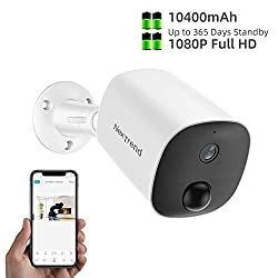 80 Off Wireless Battery Powered Security Camera Outdoor Nextrend 1080p Wirefree Rechargeable Home Sur In 2020 Surveillance Camera Home Surveillance Amazon Promo Codes