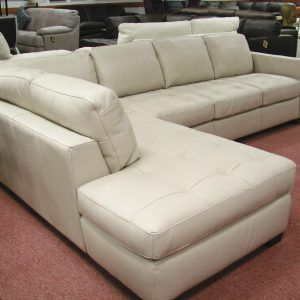 Awesome Natuzzi White Leather Sectional Sofa Leather Sectional Beatyapartments Chair Design Images Beatyapartmentscom
