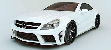 MEC Design Mercedes Benz SL R230 Wide Body