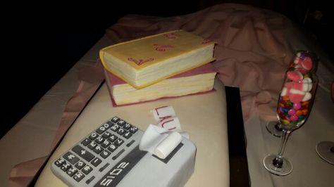 Libros y calculadora