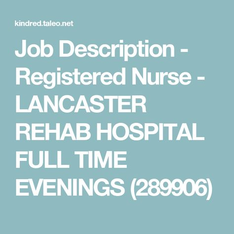Job Description - Unit Secretary - IRF (309675) xxx penn jobs - Nursing Assistant Job Description