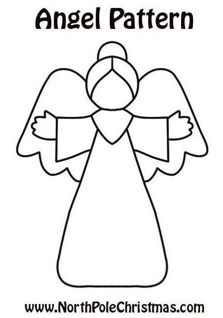 Patroon engel Kijk voor vilt eens op http://www.bijviltenzo.nl