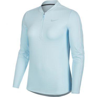 Nike Court Dri-Fit tennisshirt dames blue - Fit, Nike en ...