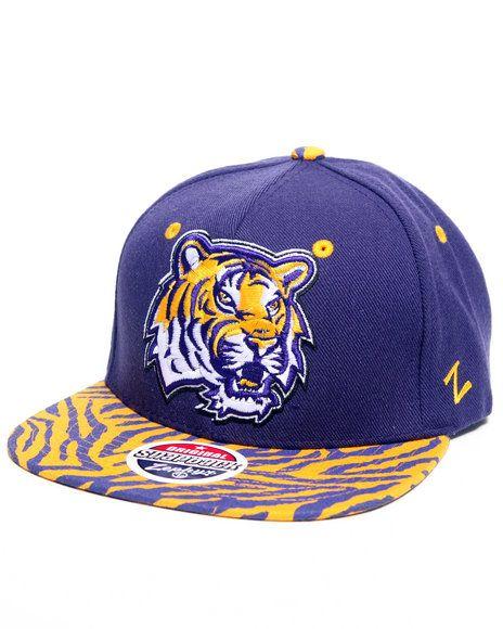 aa7f6ca1f79 Buyers Picks Men Lsu Tigers Print Snapback Hat (Drjays.com Exclusive ...