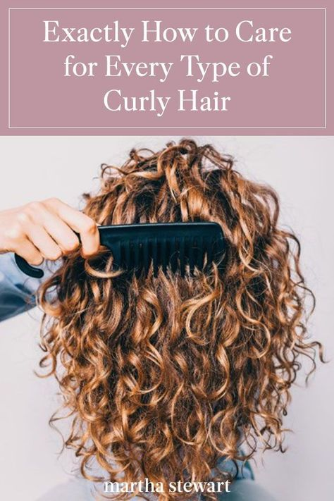 Exactly How to Care for Every Type of Curly Hair
