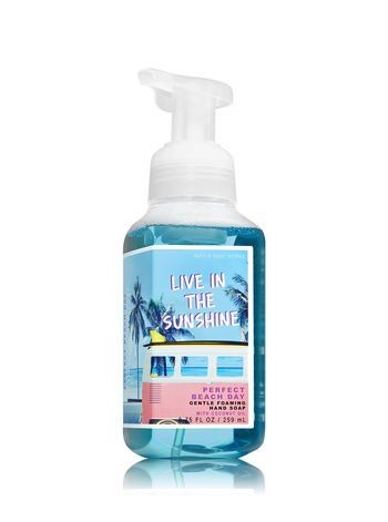 Perfect Beach Day Gentle Foaming Hand Soap Bath And Body Works